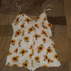 Romper size medium